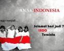 Selamat Hari Jadi Indonesaku 71